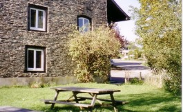 Groepshuis Houffalize 2 tuin